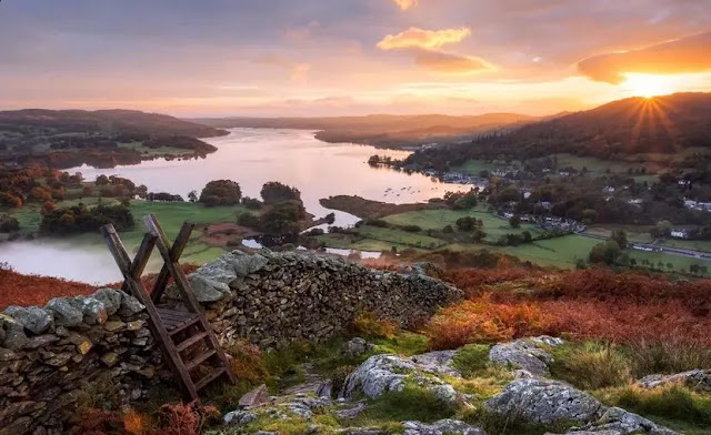 The South Central Lakes  (England)