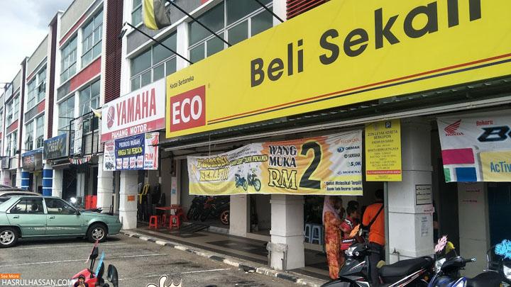 Promosi Beli Motor Wang Muka RM2, Tanpa Penjamin Tak Perlu Lesen