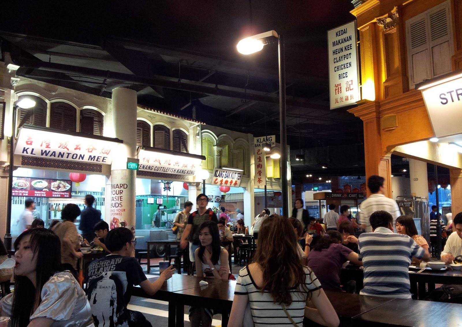 Malaysian Food Street, Sentosa Island