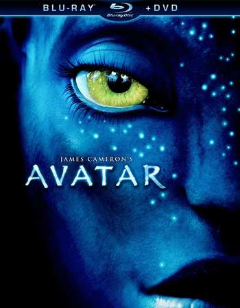 Poster Of Avatar 2009 Dual Audio 720p BRRip [Hindi - English] - Extended Free Download Watch Online