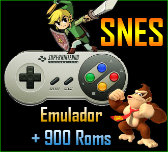 Descargar Emulador SNES + 900 Roms [PC] [Portable] [1-Link] [Full] Gratis [MEGA]