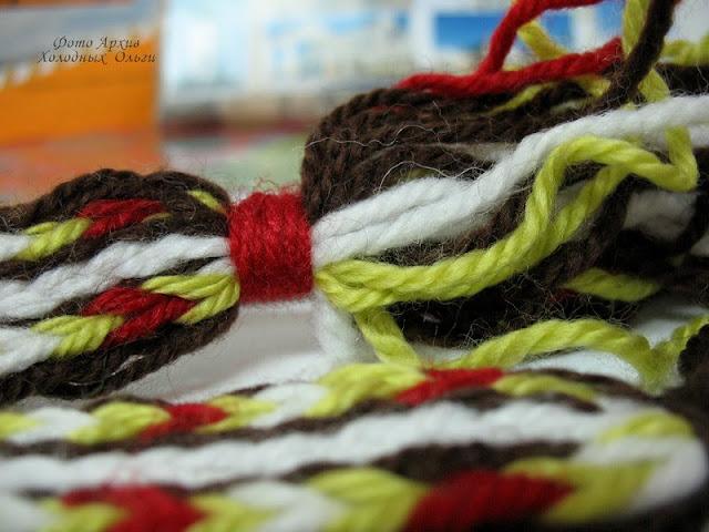 Закладка ткачество