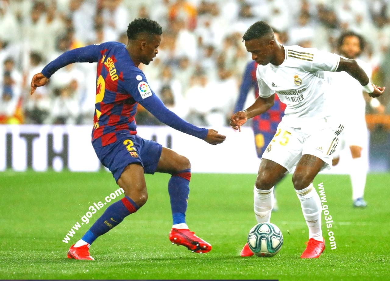 صور مباراة برشلونة وريال مدريد