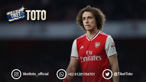 Mikel Arteta Tak Ingin David Luiz Pergi dari Arsenal