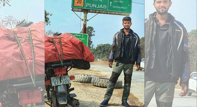 Telugu Moto Vlogger Sudheer Kumar lost his life in road accident