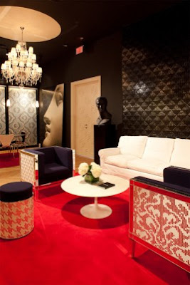 Living Rooms with Mosaic Glass Tiles  Bisazza 3