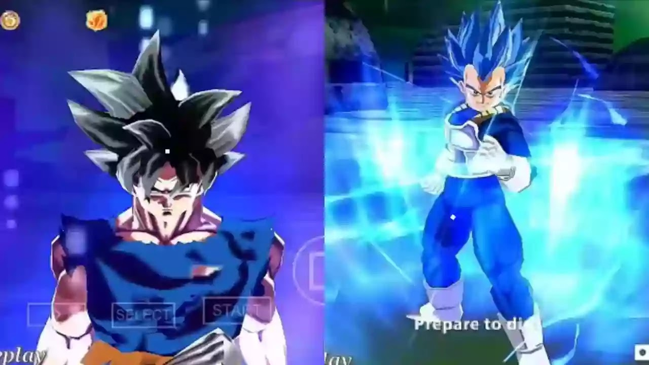 Goku and Vegeta New Transformation