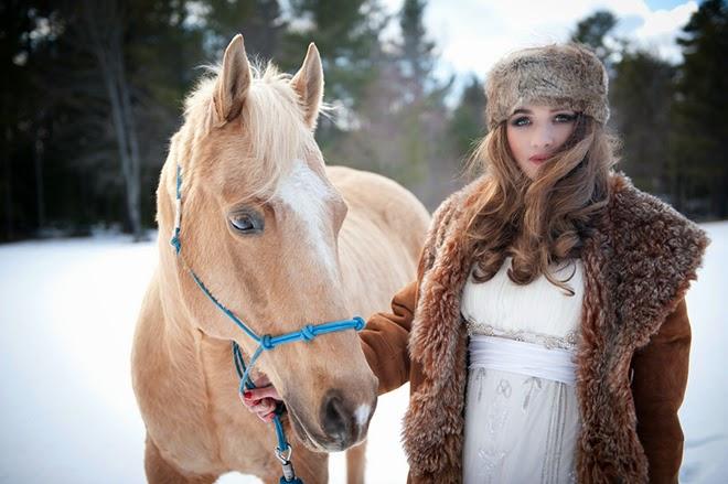 Winter Fantasy Snow White Wedding Inspiration Belle
