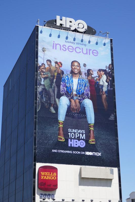 Giant Insecure season 4 billboard