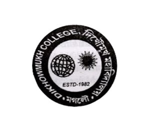 Dikhowmukh College Logo