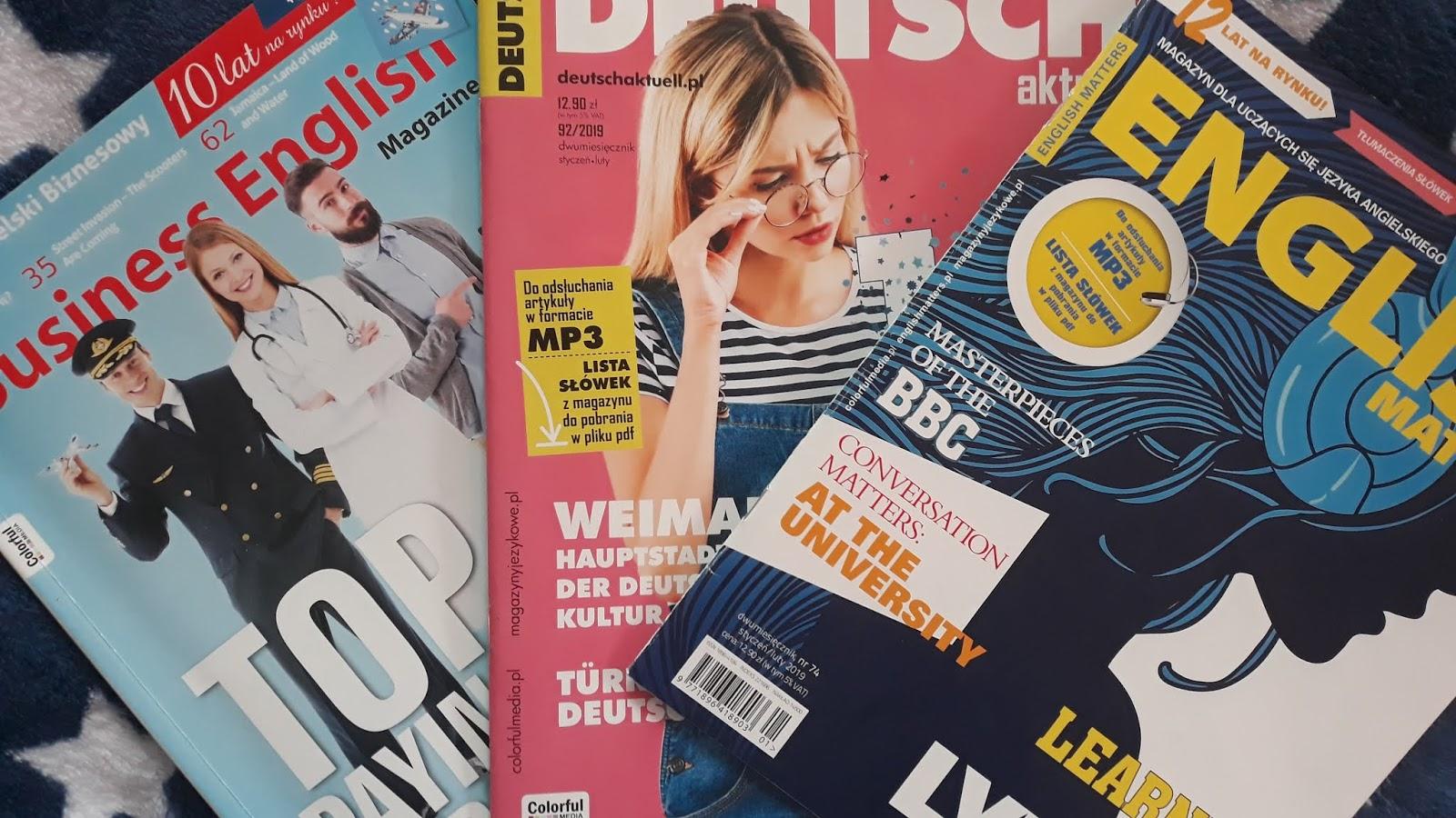 English magazine pdf business