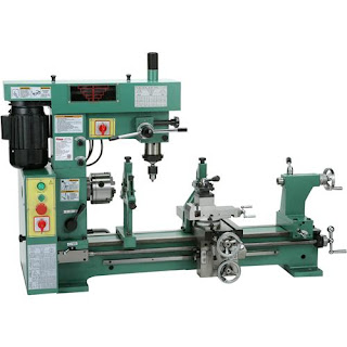 """Grizzly Industrial G9729-31"""" 3/4 HP Lathe Mill Combo"""