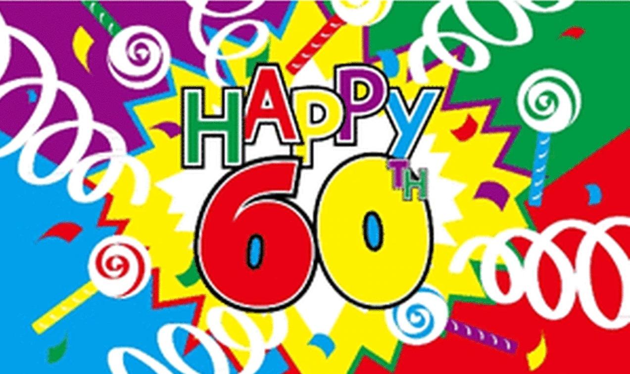 Schöne Geburtstagswünsche zum 60