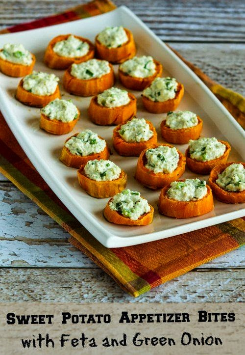 Twice-Baked Sweet Potatoes With Feta And Sumac Recipe — Dishmaps
