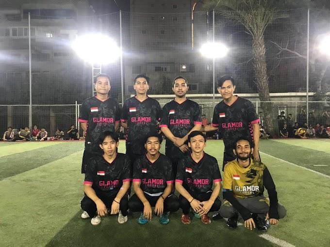 Membanggakan, Klub Futsal Glamor KM-NTB Mesir Berhasil Juarai Turnamen Cairo Open Malaysia