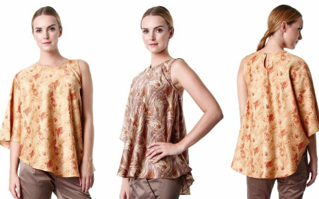 Model Baju Batik Terbaru Untuk Remaja
