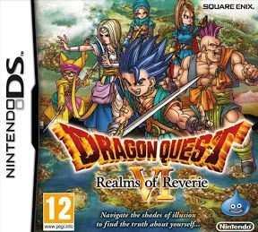Rom Dragon Quest VI Realms of Reverie 3DS