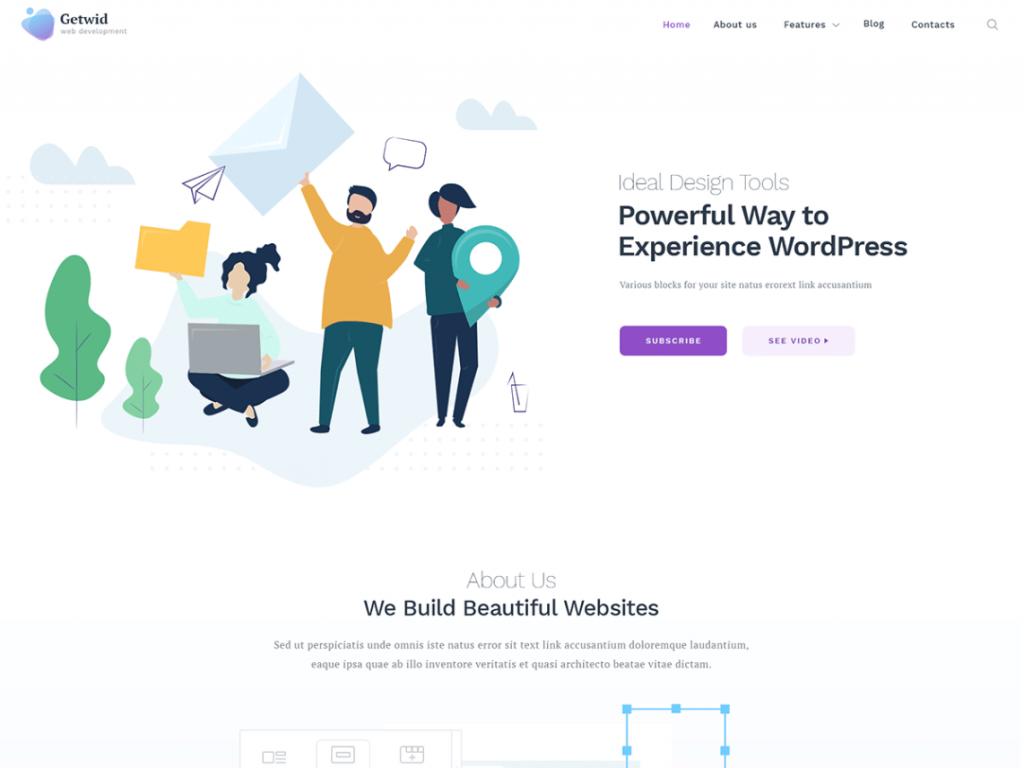 50 Free and Latest WordPress theme