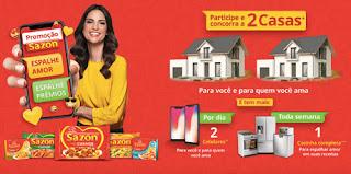 Promoção Sazon Espalhe Amor Espalhe Prêmios