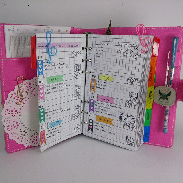 J&J Binder : Create Your Own Custom Cover Planner, Binder