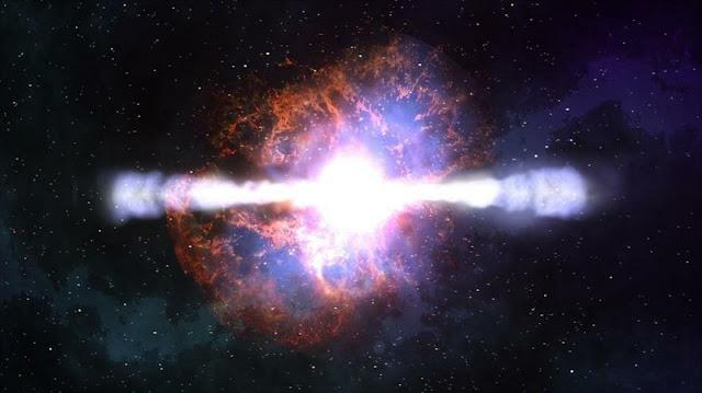 Detectan un agujero negro comiéndose una estrella de neutrones