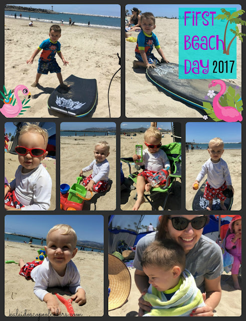 Friday Five: Beach Day, Potty Training, Monster, Food Truck and Running