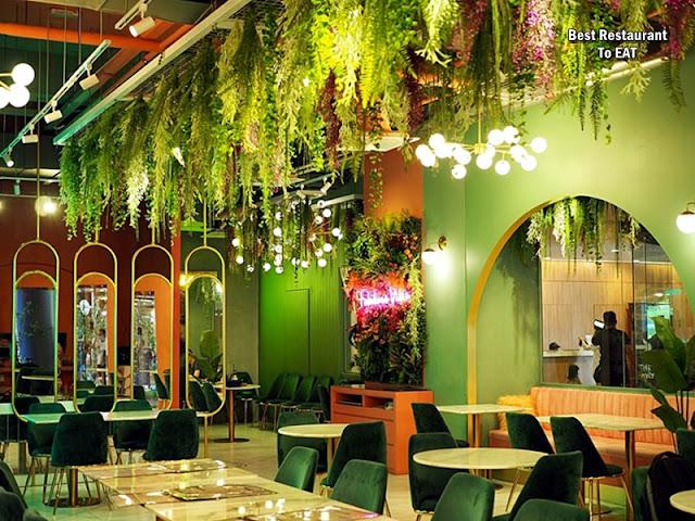 Nguyens Retail Park Mont Kiara Vietnamese Restaurant - Dining Area
