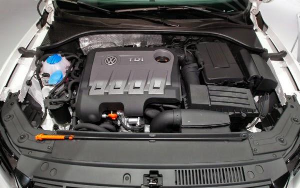 Volkswagen Passat 2014 мотор