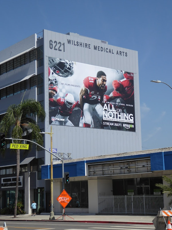 Giant All or Nothing series launch billboard
