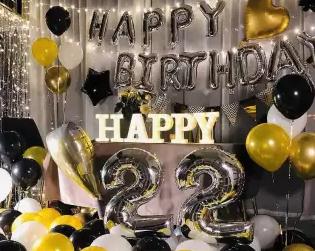 Tips Dekorasi Balon Huruf untuk Keperluan Pesta
