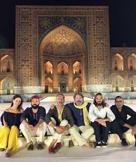La Banda Morisca en el Sharq Taronalari Festival, Samarkanda