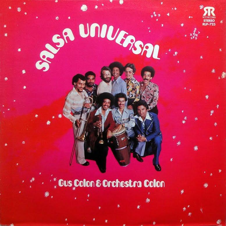 Latin Vinyl Junkie Lvj Gus Colon Amp Orchestra Colon