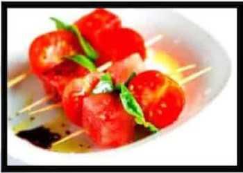 tomato watermelon salad