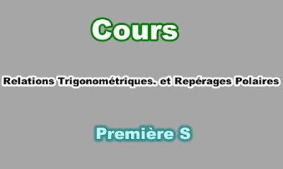 Cours Angles Orientés et Repérage Polaire Première S PDF