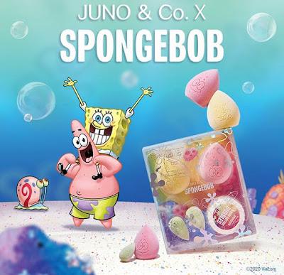 Juno & Co x SpongeBob