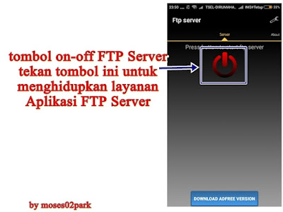 on-off ftp server