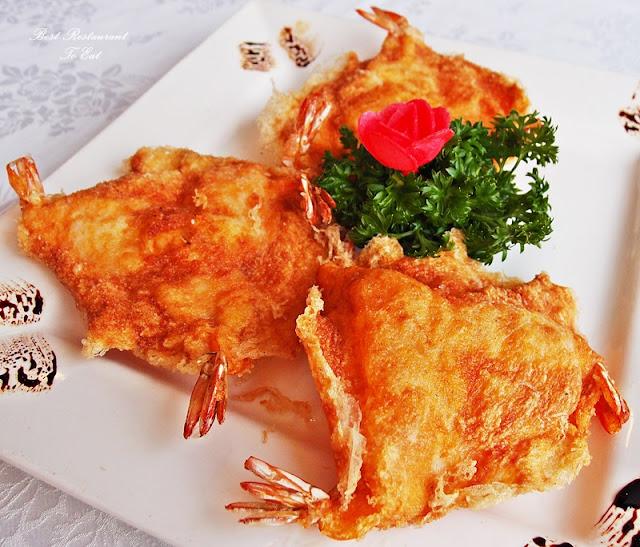 Fortuna Seafood Restaurant Kajang Vietnamese Style Prawn Cracker