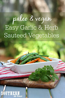 Easy Sauteed Garlic and Herb Vegetable Side Dish Recipe
