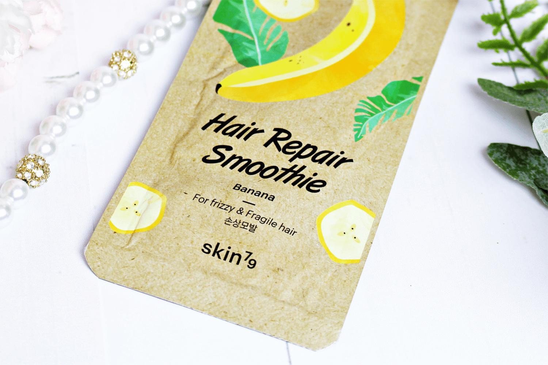 Bananowa maska do włosów Skin79 Regenerująco-odżywcza Hair Repair Smoothie
