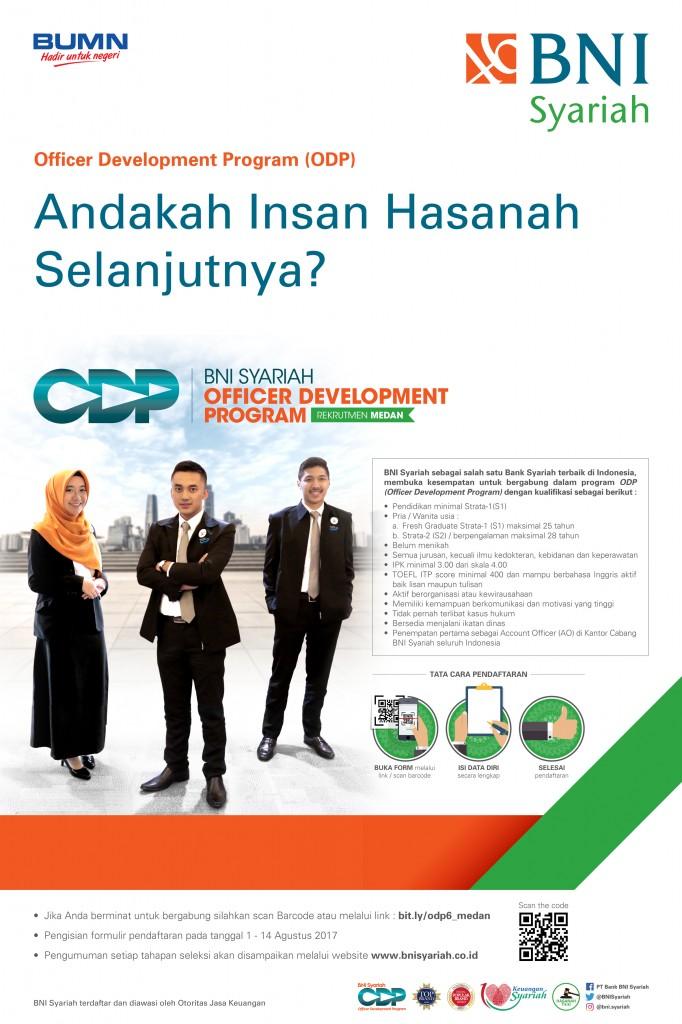 Lowongan Kerja BNISyariah Medan