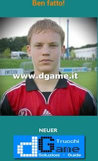 Soluzioni Guess the child footballer livello 17