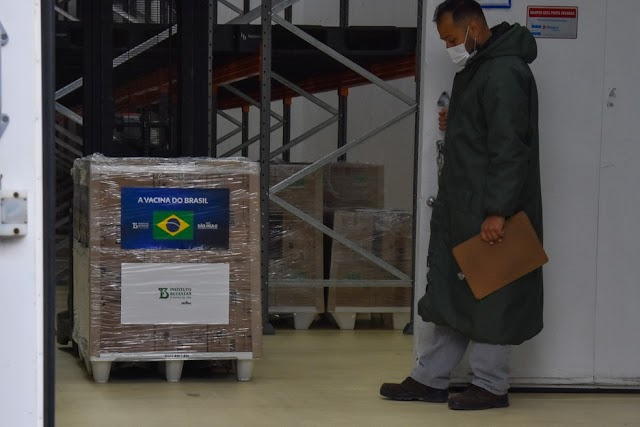 Após entrega de últimas doses, Butantan depende da chegada de insumos para retomar produção
