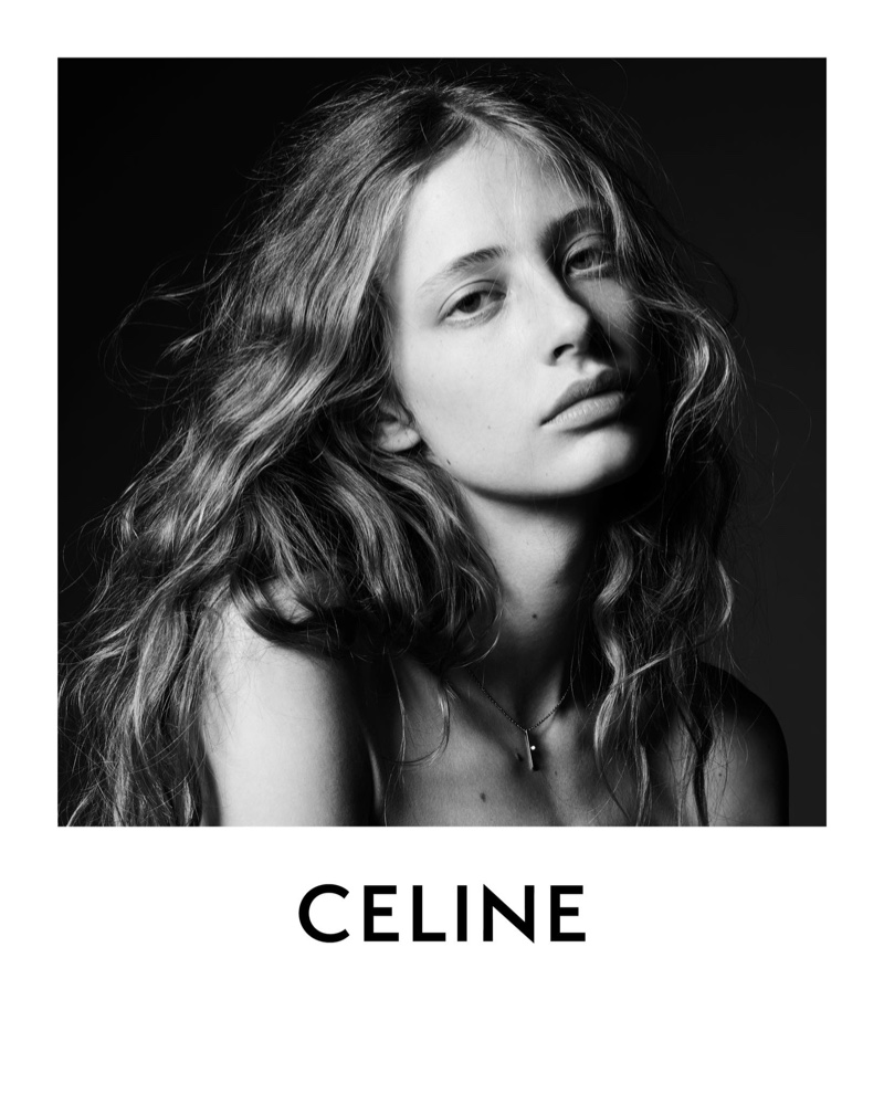 Anna Francesca Takes the Spotlight in Celine Winter 2020 Campaign