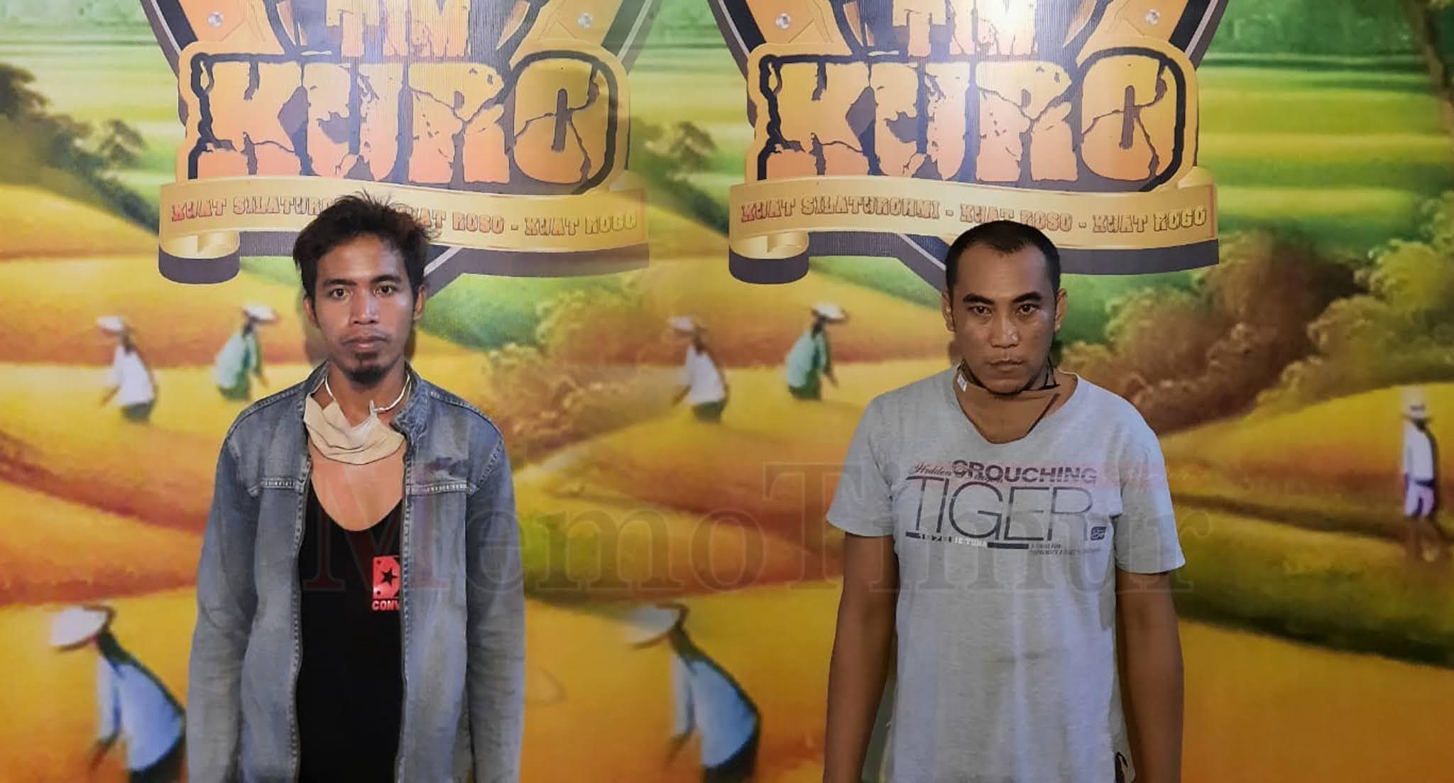 Dua Pengedar Shabu Diringkus, Akui Dapat Barang dari Probolinggo