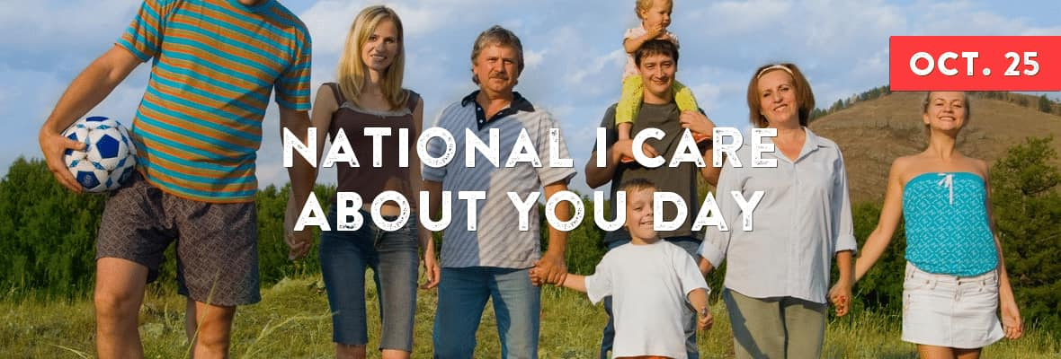 ​National I Care About You Day Wishes Unique Image