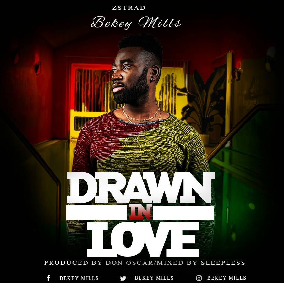 Beky Mills Unveils Artwork For HIs Reggae/Lovers Rock Tune - Drawn In Love