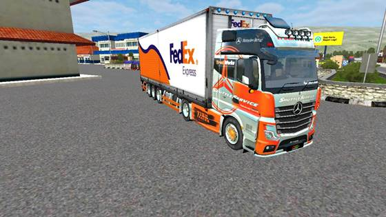 download mod bussid truck mercy actros box terbaru v2