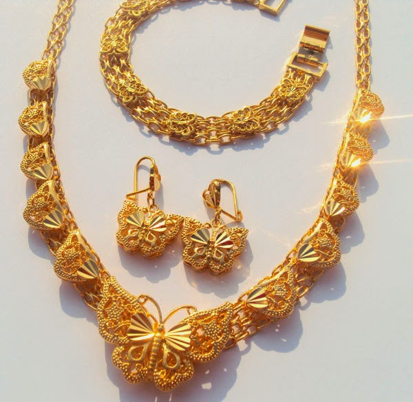 Expensive Charm Bracelets: Buy Gold And Jelwrey: 24K Beautiful Expensive Gold Necklace
