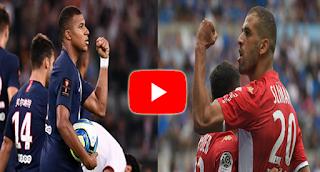 مشاهدة مباراة موناكو وباريس سان جيرمان بث مباشر بتاريخ 15-01-2020 الدوري الفرنسي