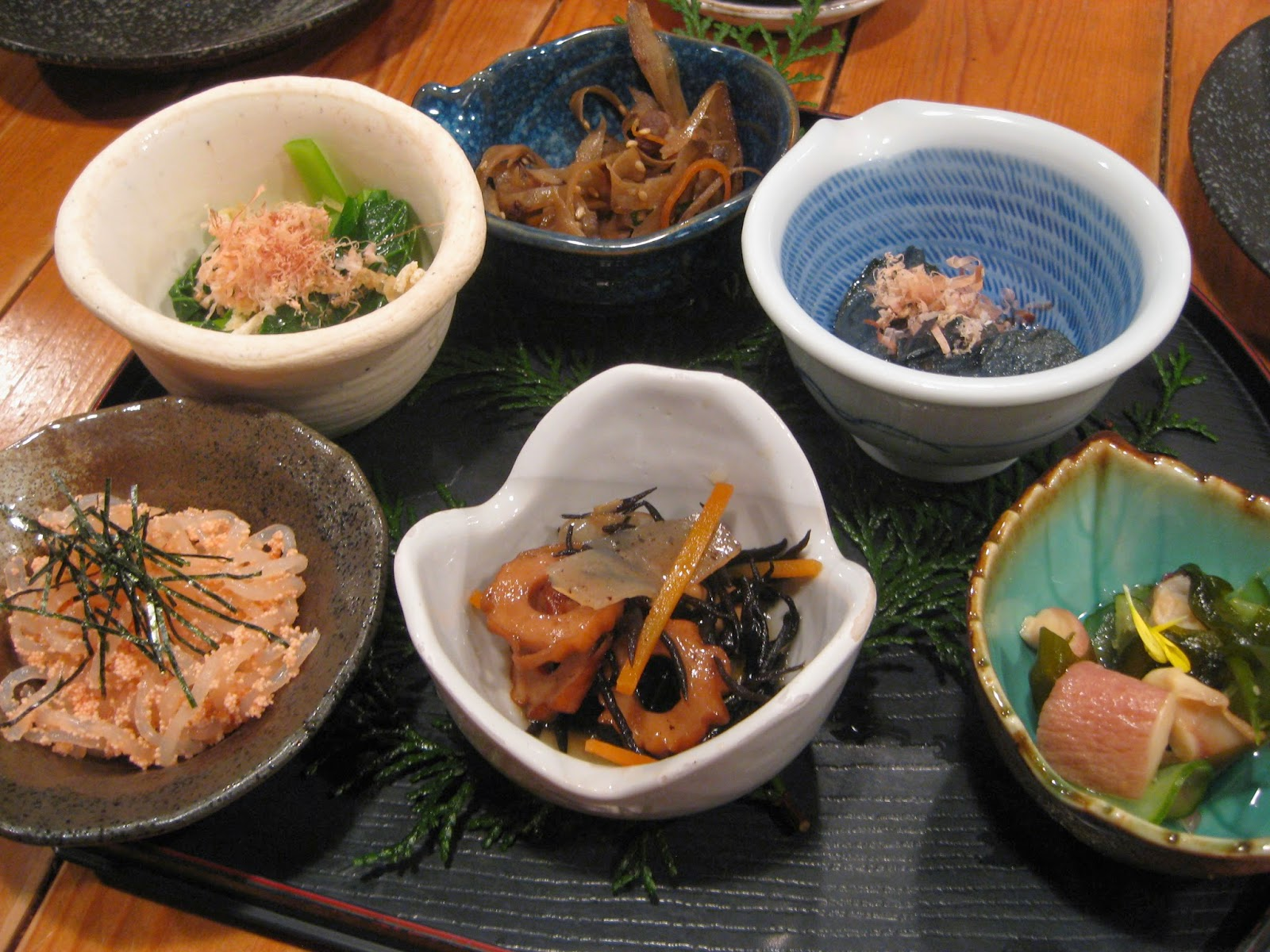 Kyoto - Various small dishes